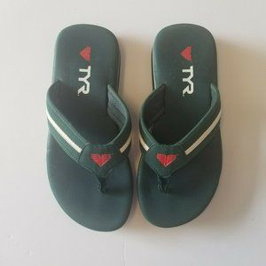 TYR Flip Flops Green 8 41 Men